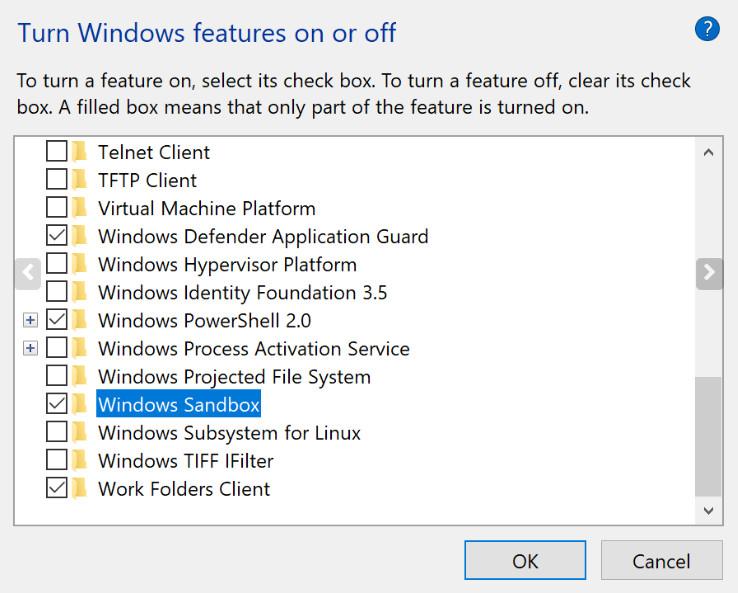 Qué es Windows Sandbox, cómo se activa y para qué se utiliza 38