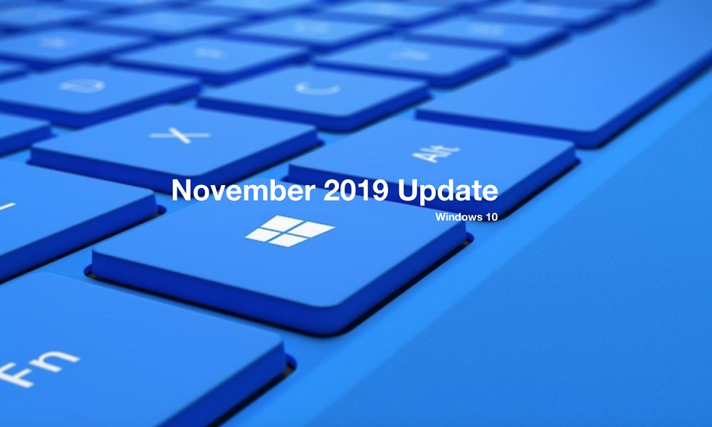 actualización a Windows 10 1909