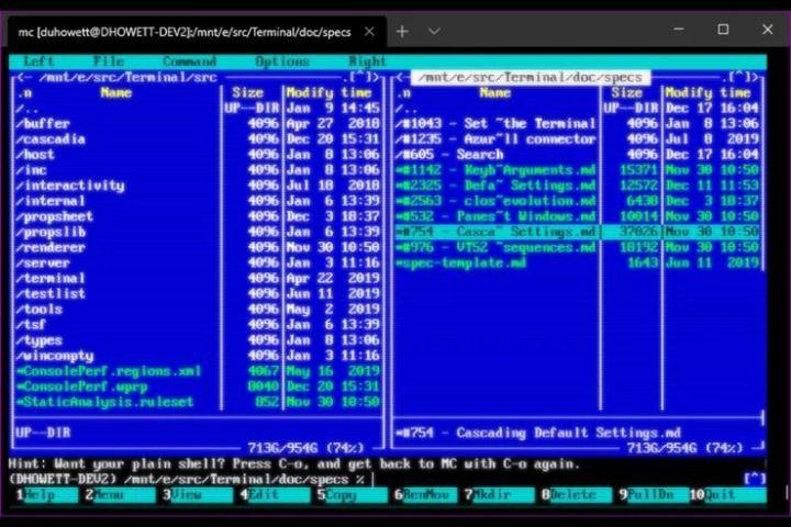 novedades para Windows Terminal