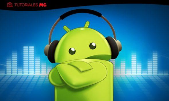 bajar el volumen en Android