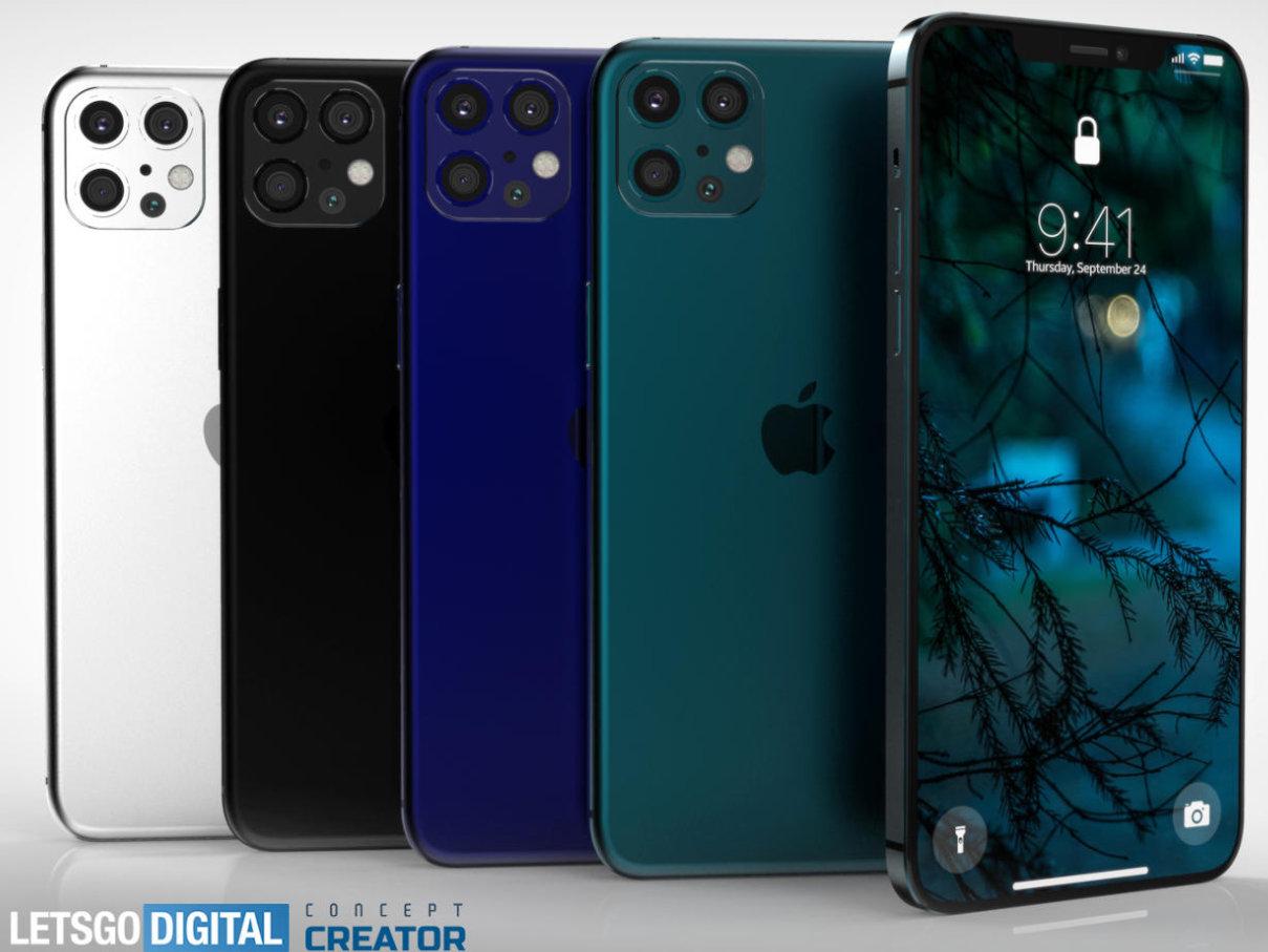 versiones de iPhone 12