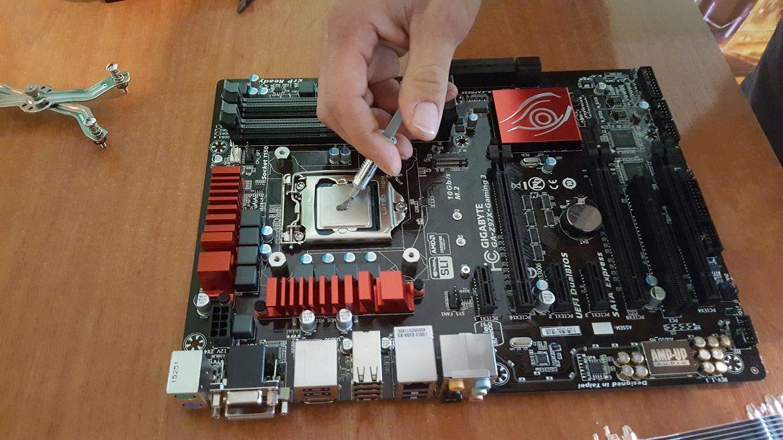 pasta térmica PC