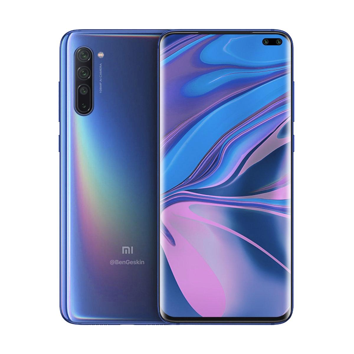 render del Xiaomi Mi 10 Pro