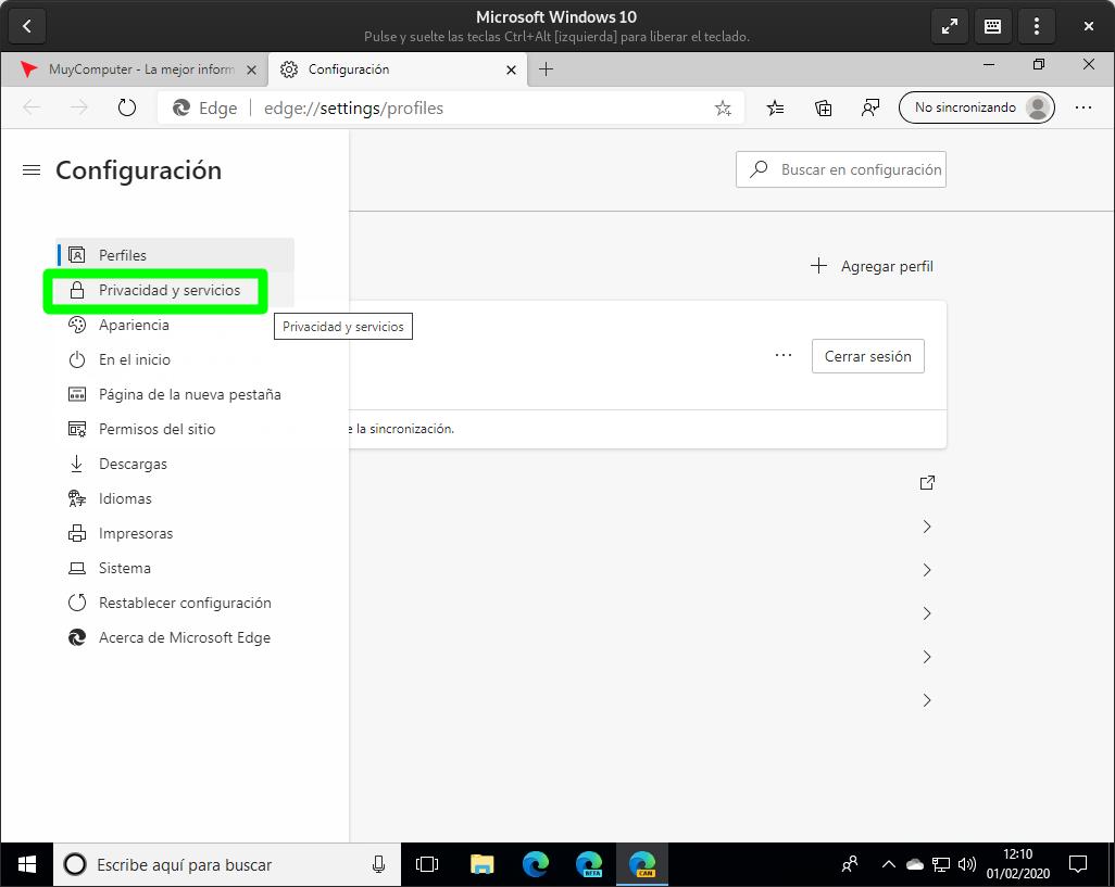 Activar la nueva característica de seguridad que Microsoft ha introducido en Edge Chromium para bloquear la descarga de programas y aplicaciones no deseados