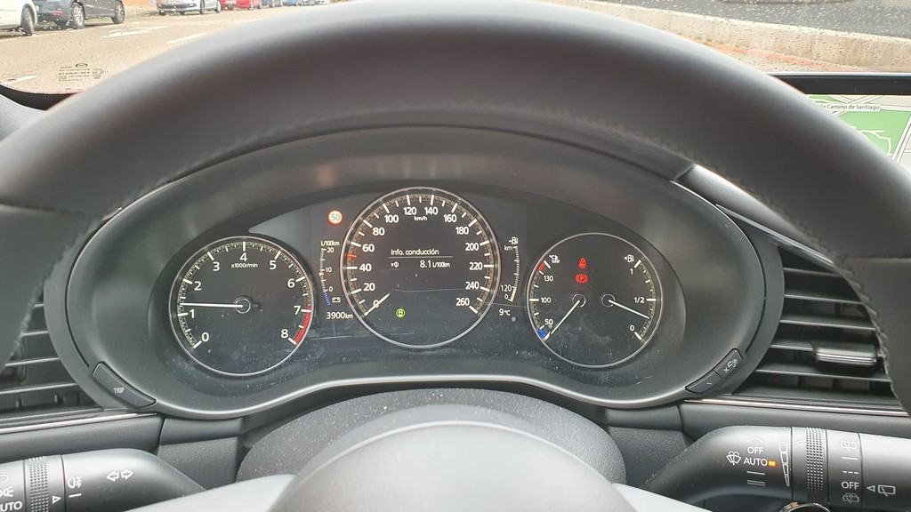 Mazda3 2019 Skyactiv X, especiado 43