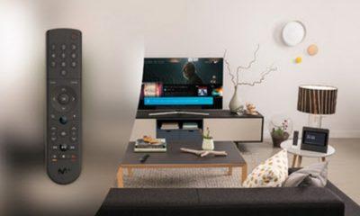 Movistar+ presenta un mando activado por voz para sus decodificadores UHD 45