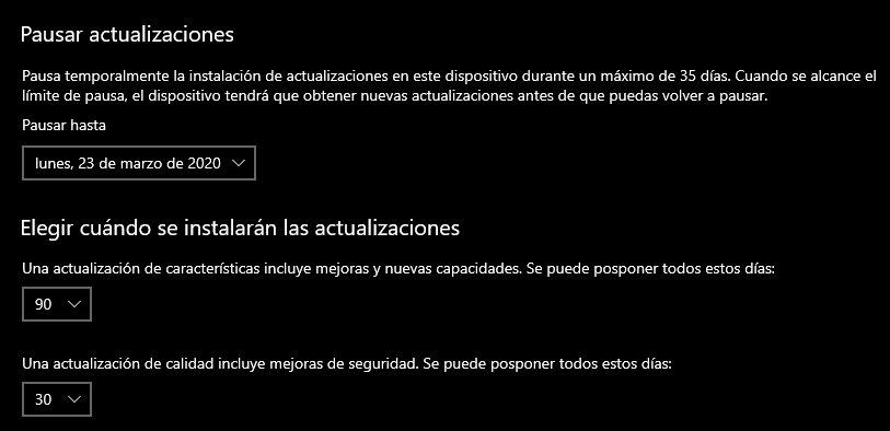 Cómo eliminar una actualización fallida de Windows 10 como la última publicada 39