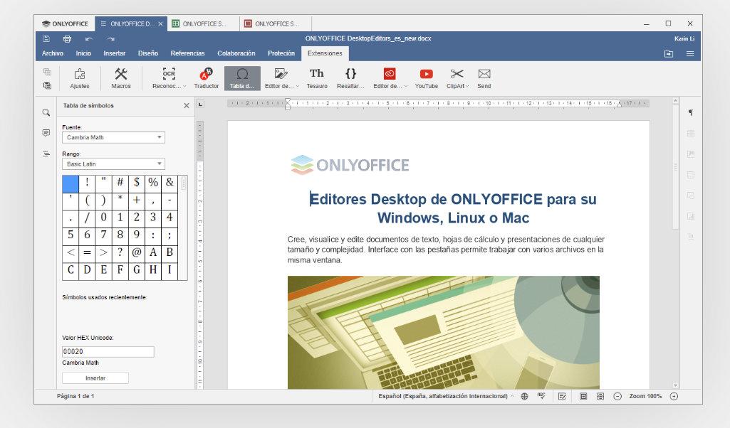 Siete alternativas a Microsoft Office, gratuitas y para uso en local y on-line 38