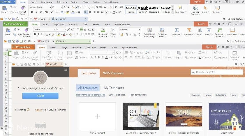 Siete alternativas a Microsoft Office, gratuitas y para uso en local y on-line 42