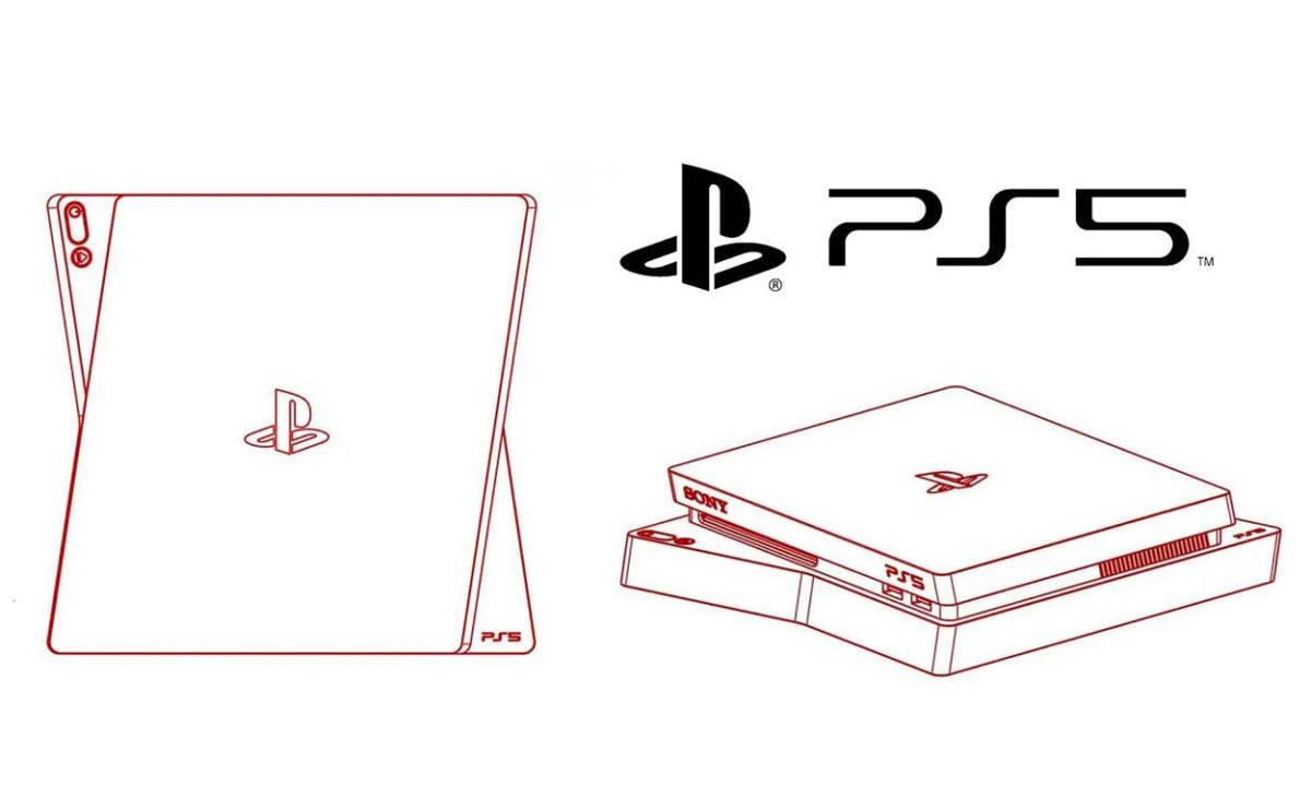 Boceto diseño PS5