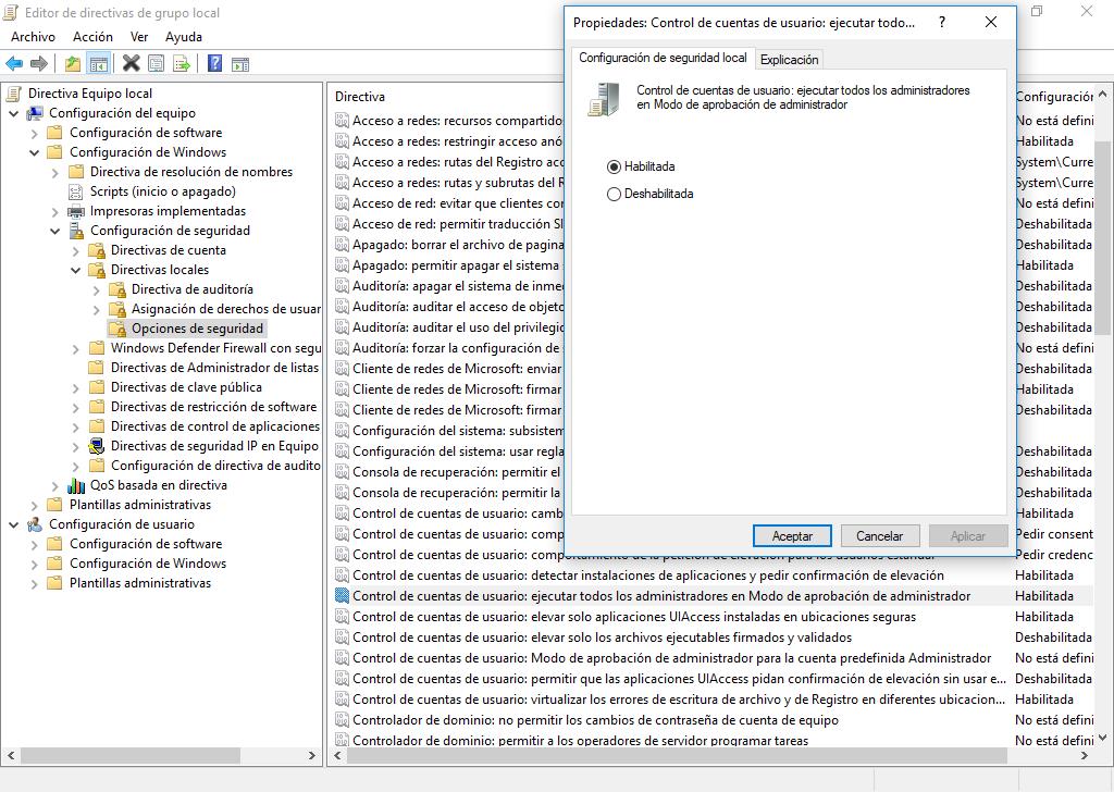 Corregir desde el Editor de directivas de grupo local el fallo que impide el apagado y reinicio de Windows 7