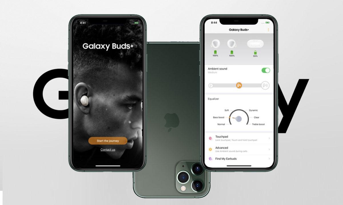 Galaxy Buds Plus iOS