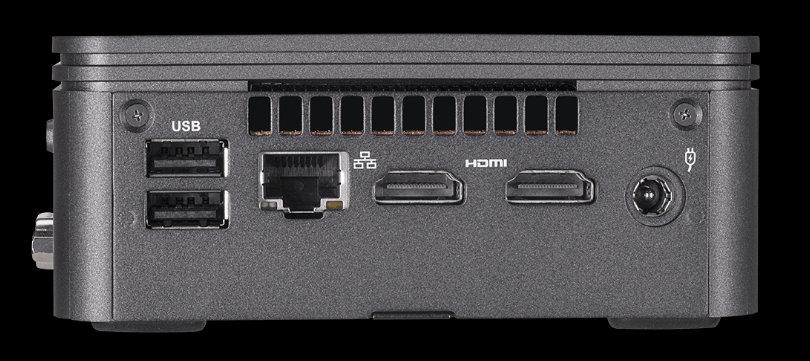 Gigabyte Brix, mini-PCs mejorados con los últimos procesadores de Intel 30