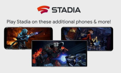 Google Stadia estará disponible en la serie Samsung Galaxy S8, S9 y superiores 5
