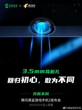Imagen promocional del Black Shark 3 Pro