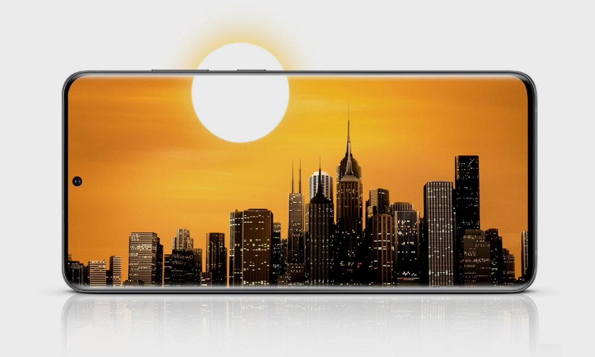 pantalla del Galaxy S20 Ultra