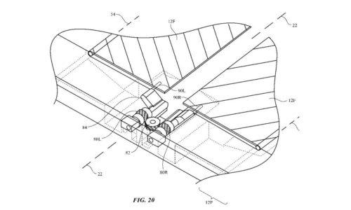 Patente iPhone Plegable