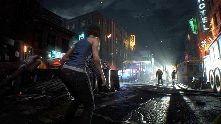 Primeros minutos de juego real de Resident Evil 3 Remake en 4K 30