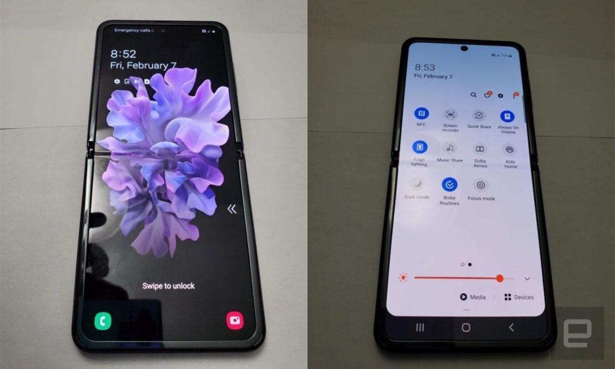 Samsung Galaxy Z Flip Filtrado