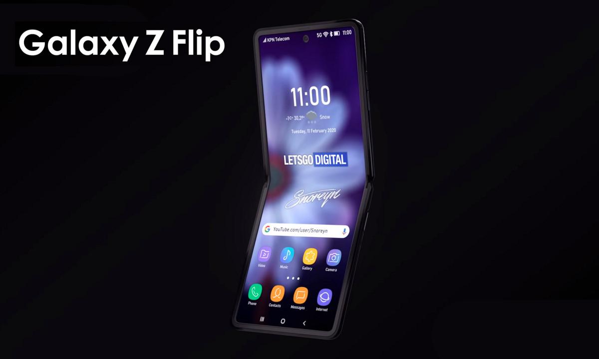 vídeo del Galaxy Z Flip