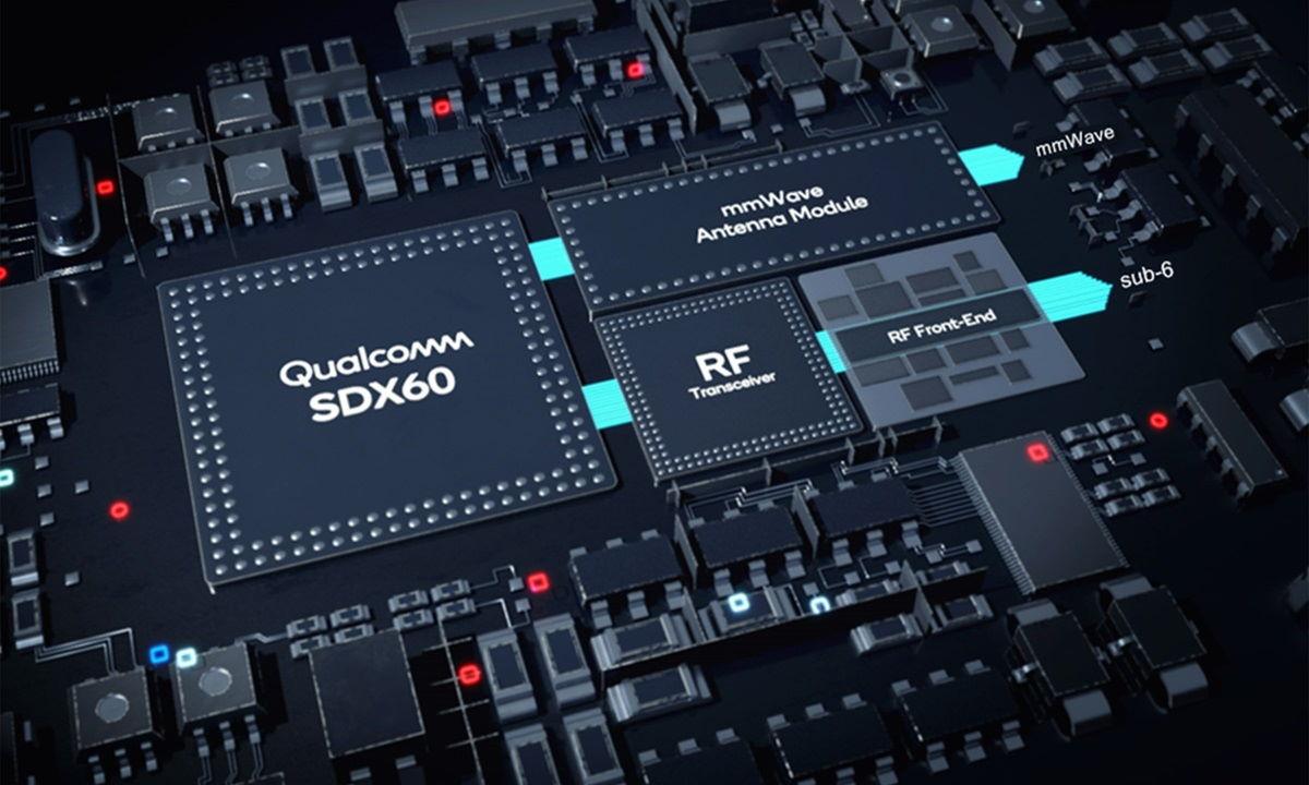 Qualcomm presenta el módem Snapdragon X60 5G, fabricado en 5 nm y con velocidades de 7,5 Gbps 40