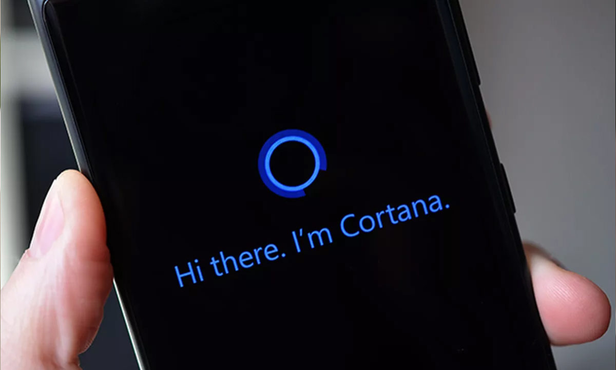 Windows 10X Cortana