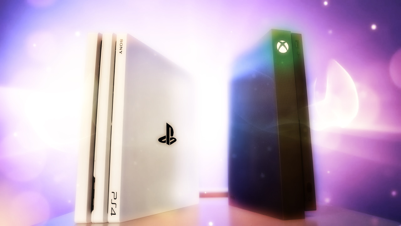 PS4 Pro y Xbox One X