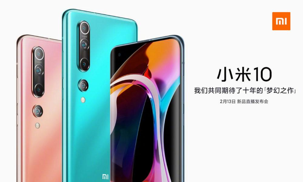 Xiaomi Mi 10 Pro muestra su diseño, colores y especificaciones