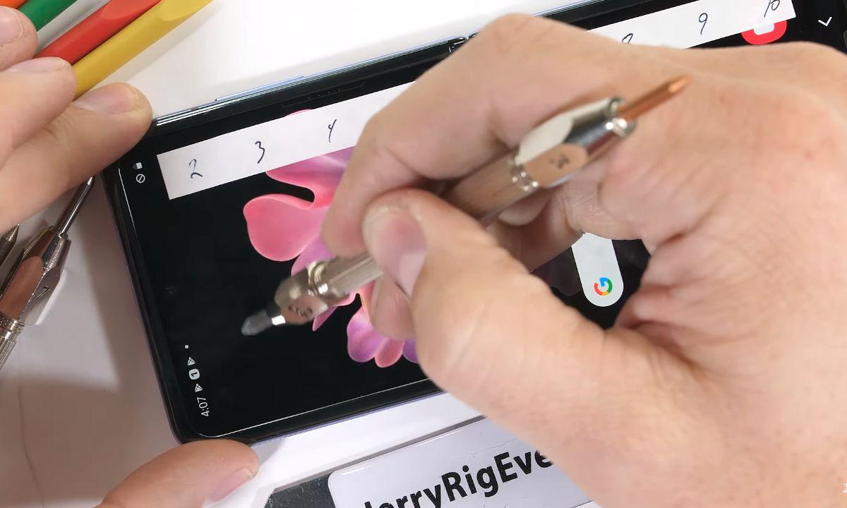 dureza del Samsung Galaxy Z Flip