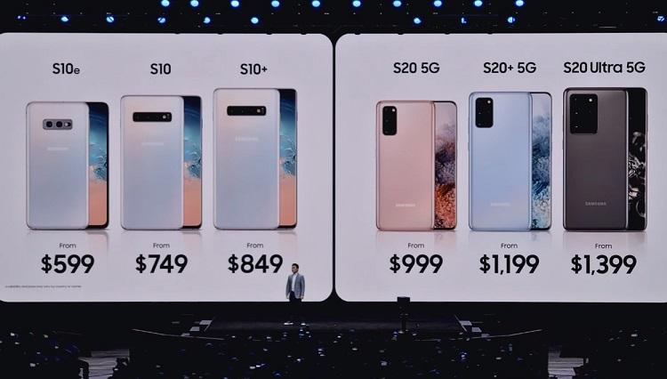 Samsung presenta los nuevos Galaxy S20: especificaciones y precios de una familia rompedora 46