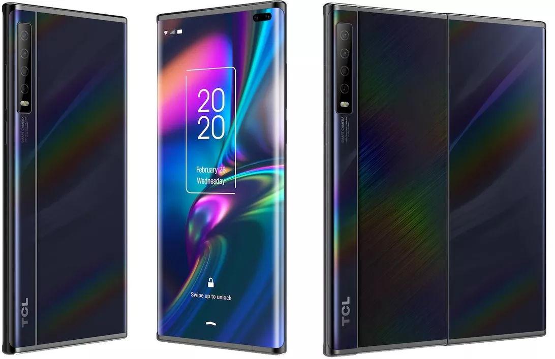 smartphone expandible de TCL