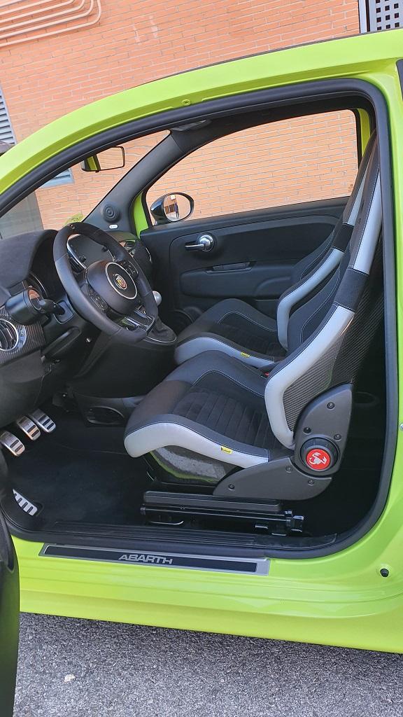 Fiat 500 Abarth 595 Competizione, condensado 41