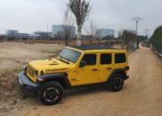 Jeep Wrangler Rubicon, fronterizo 75