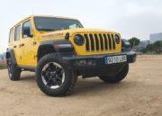 Jeep Wrangler Rubicon, fronterizo 81