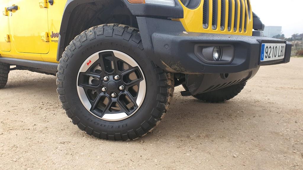 Jeep Wrangler Rubicon, fronterizo 31