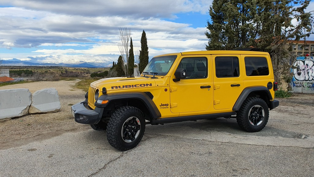Jeep Wrangler Rubicon, fronterizo 29