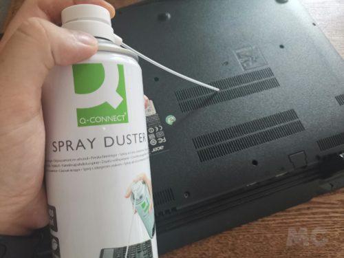 Cómo limpiar y desinfectar el ordenador portátil