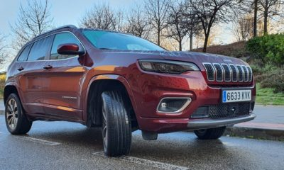 Jeep Cherokee Overland, civilizado 30
