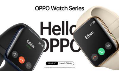 Oppo presenta su nuevo smartwatch y es muy parecido al Apple Watch 40