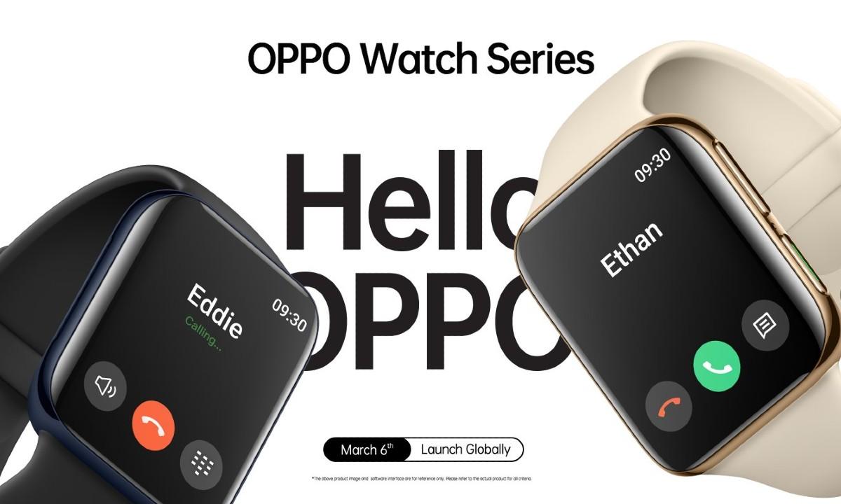 Oppo presenta su nuevo smartwatch y es muy parecido al Apple Watch 31