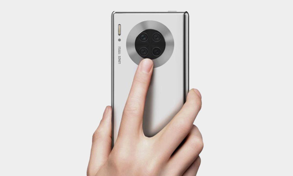 Huawei Mate 40 Pantalla Multifuncion Patente