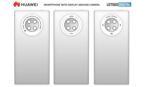 El Huawei Mate 40 incluirá una pantalla táctil trasera 38