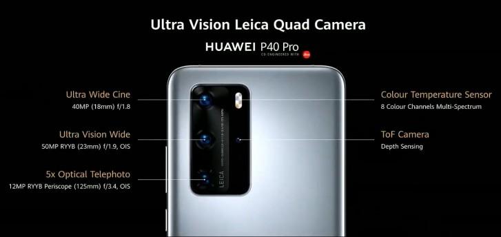 Huawei P40, P40 Pro y P40 Pro+: Huawei nos sorprende con un trío de ases 38