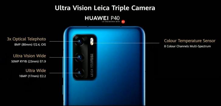 Huawei P40, P40 Pro y P40 Pro+: Huawei nos sorprende con un trío de ases 34