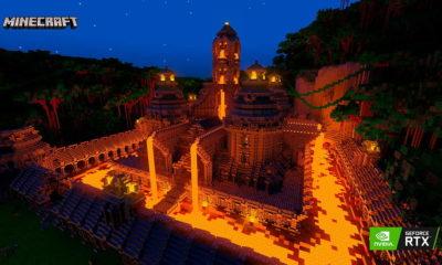 Minecraft RTX derrocha potencial con nuevos mapas: el trazado de rayos representa un salto enorme 4