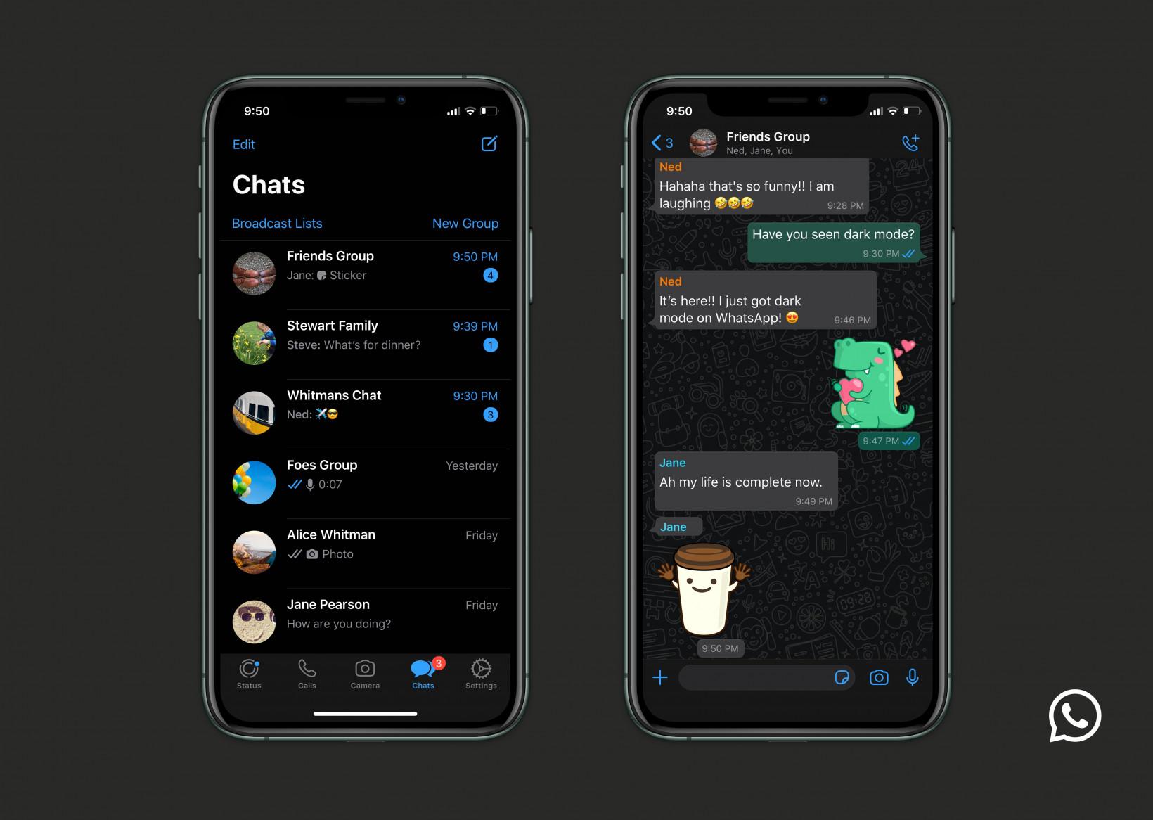 El modo oscuro de WhatsApp ya está disponible para todos y así puedes activarlo 38