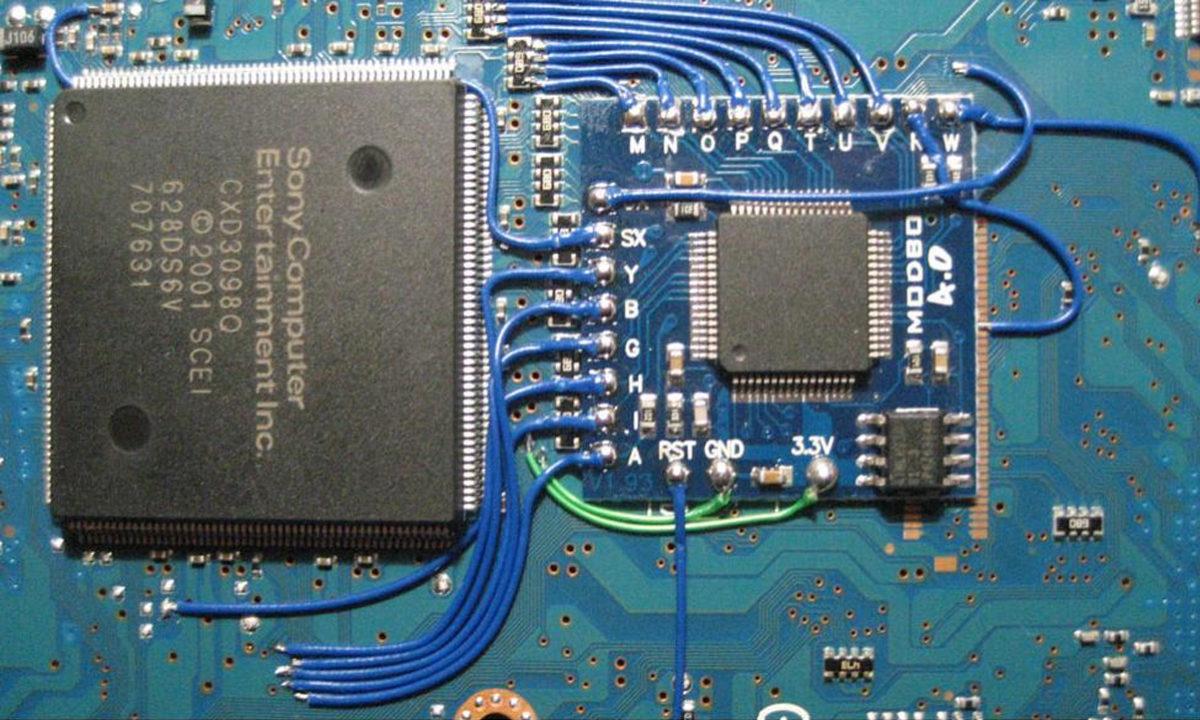 PlayStation 2 Chip Pirata
