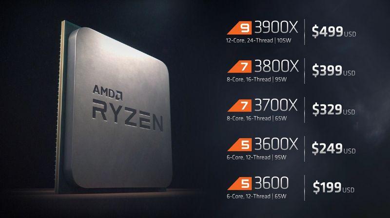 AMD baja el precio de los Ryzen 3000 entre 25 y 50 dólares, según el modelo 33
