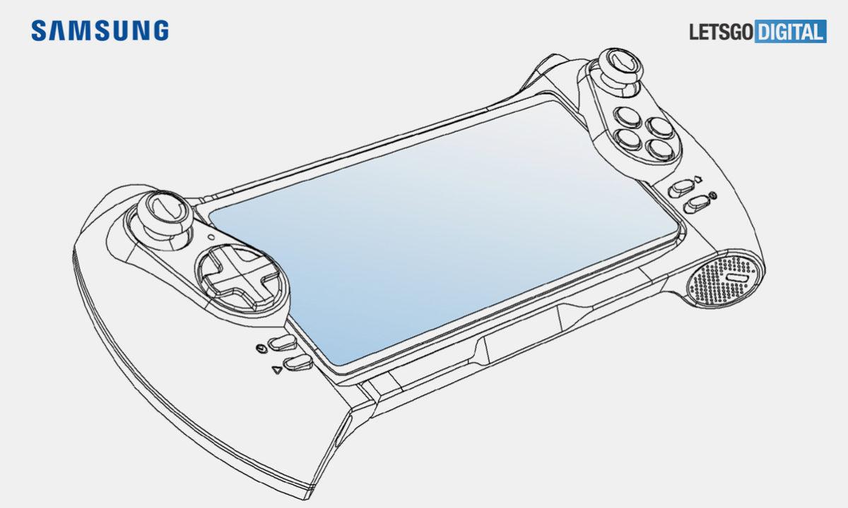 Samsung Gamepad Galaxy Patente