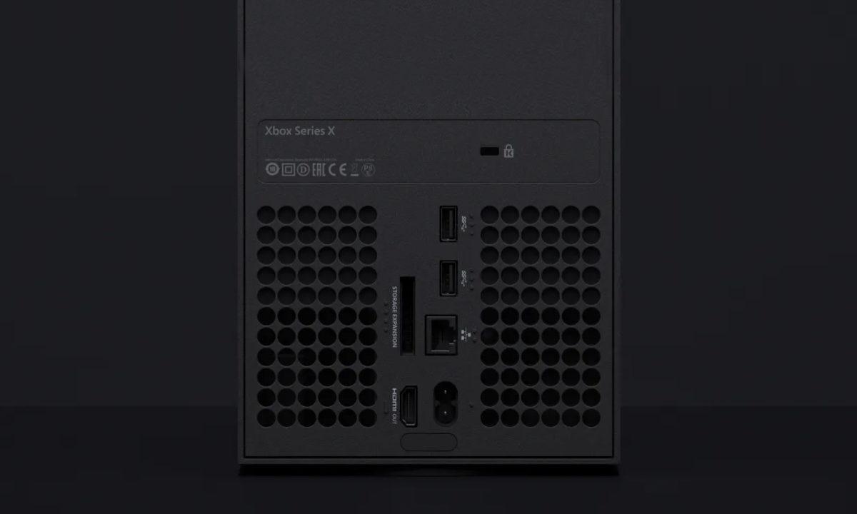 Xbox Series X Conectividad Ranura Expansión SSD